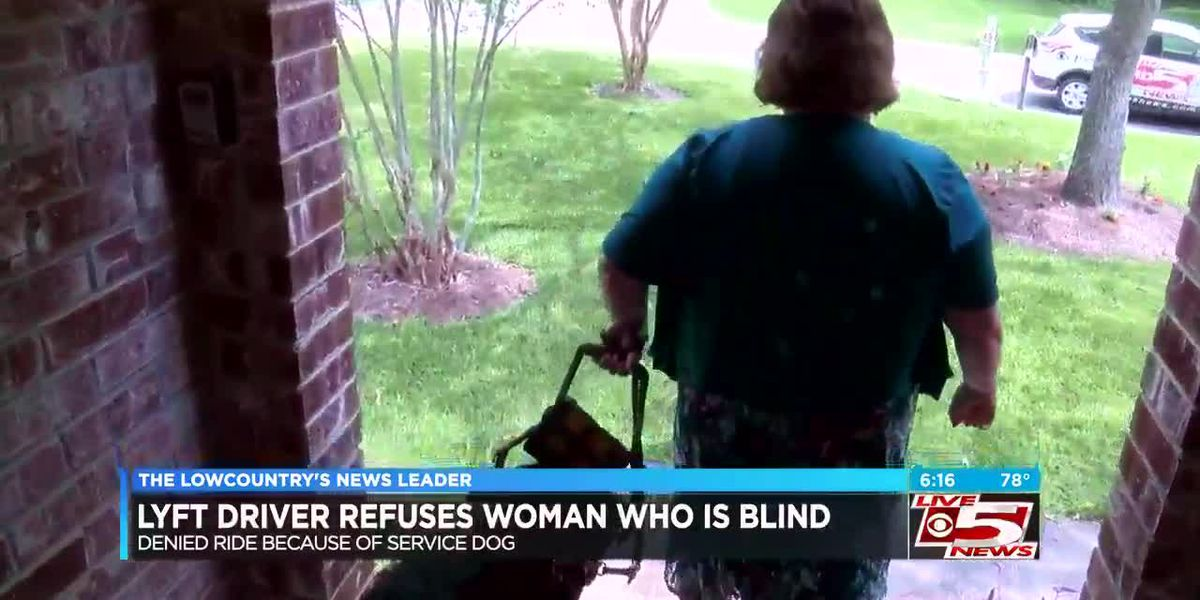 Lyft driver denies ride to blind Summerville woman because of her service dog