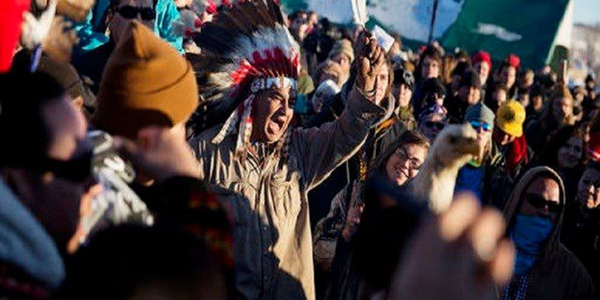 Last pipeline protesters weigh their options