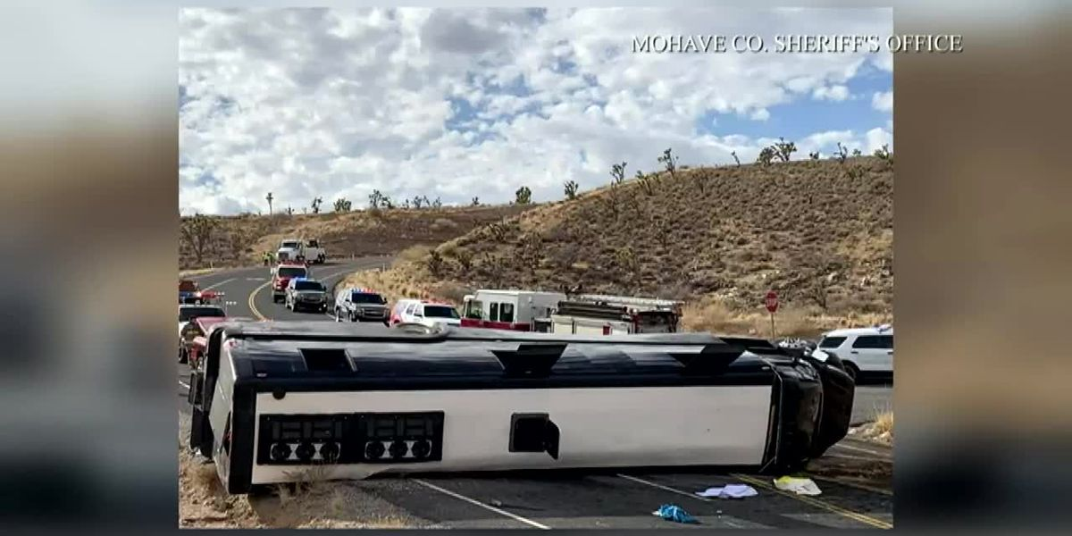 At least one killed, multiple injuries in bus crash near the Grand Canyon