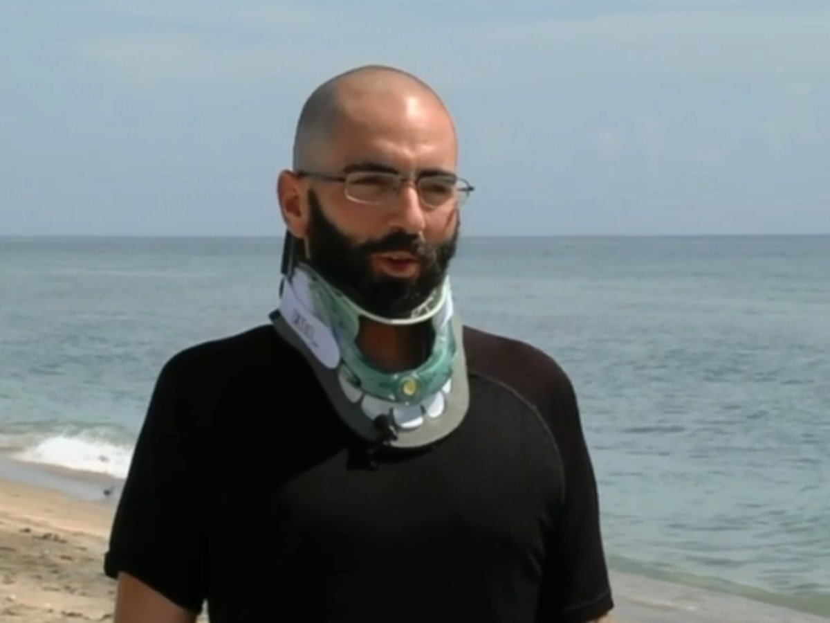 Man raises awareness about diving safety