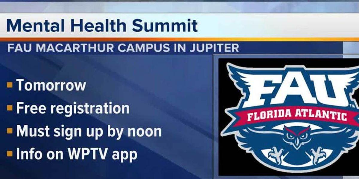 FAU to host mental health summit focusing on autism in Jupiter