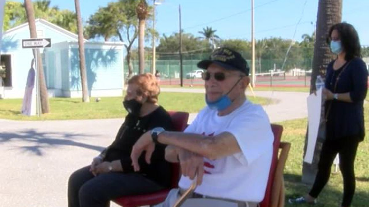 100th birthday celebration held for WWII veteran