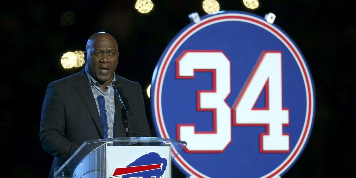 Bills honor Thurman Thomas by retiring No. 34