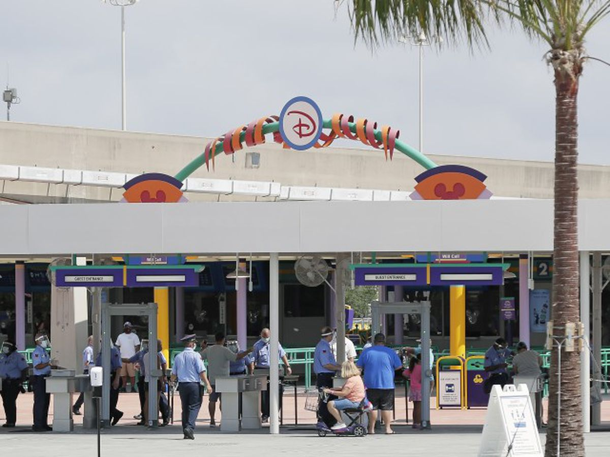 Disney World reopens as coronavirus cases surge in Fla.