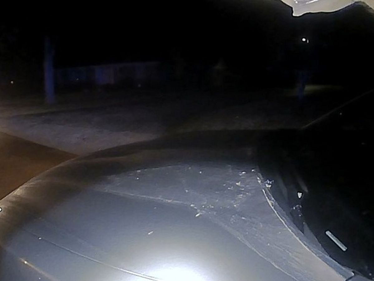 Newly-released body cam video shows 'white substance' on hood of GSU quarterback's car