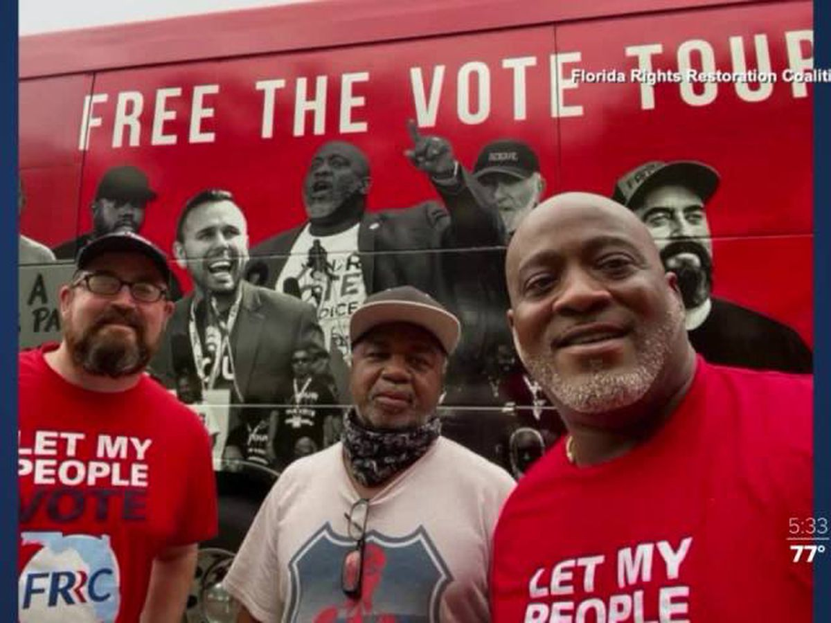 'Free the Vote' events encourage those with past felony convictions to vote