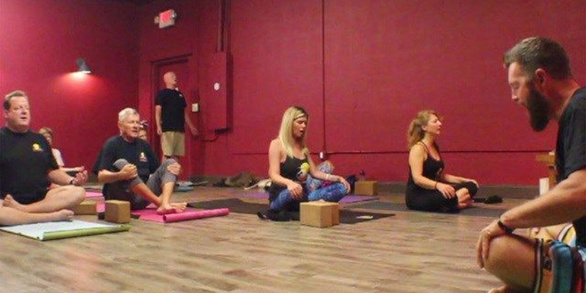 Connected Warriors battles depression with yoga