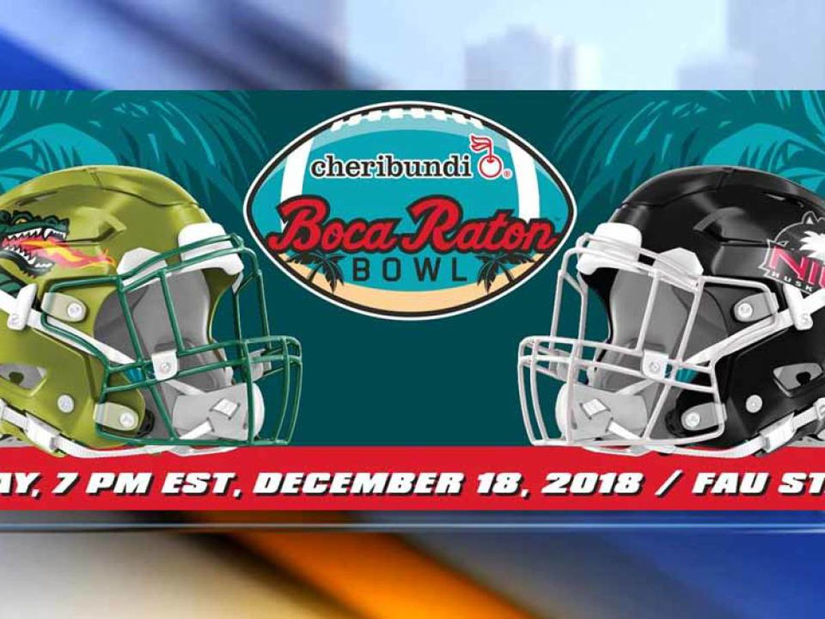 Boca Raton Bowl kicks off Tuesday night between UAB and Northern Illinois at FAU