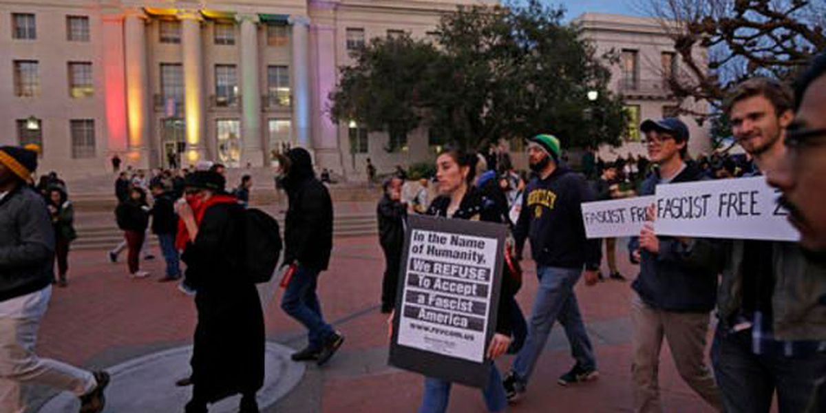 Protests at UC Berkeley over editor speech