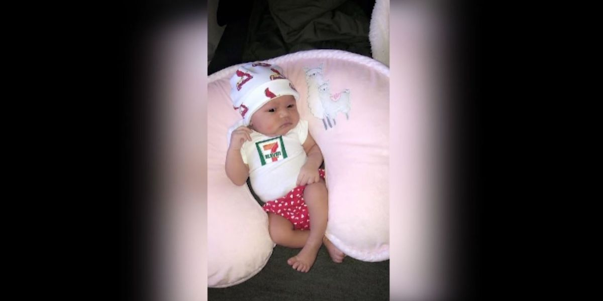7-Eleven sets up college fund for baby born on 7/11 at 7:11 p.m.