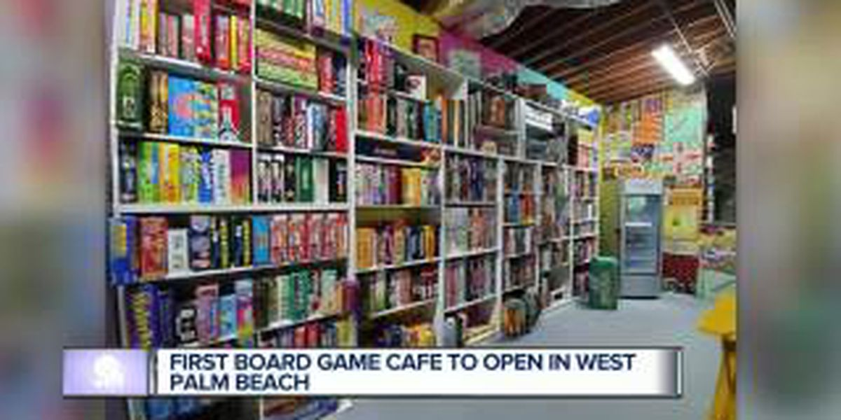Board game café opening Friday in West Palm Beach