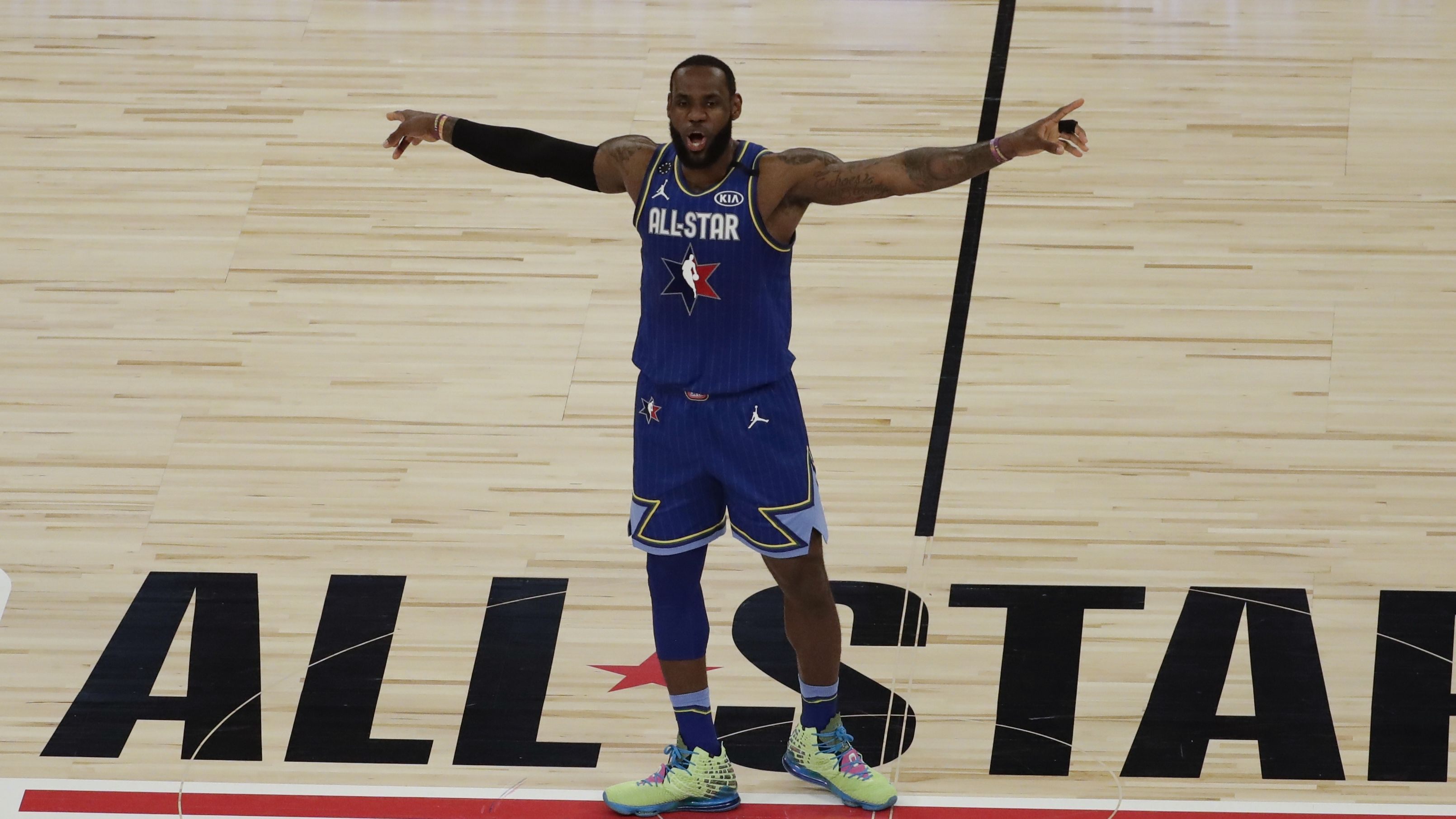 Team LeBron wins NBA All-Star Game 157-155 in revamped format