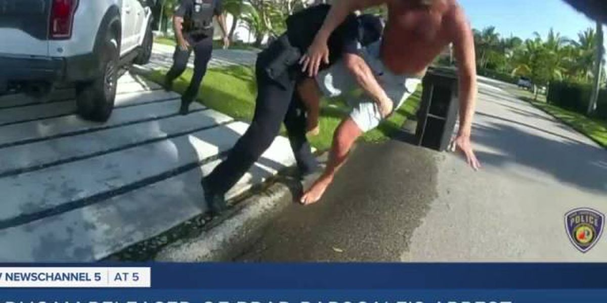 VIDEO: Fort Lauderdale police tackle former Trump campaign manager