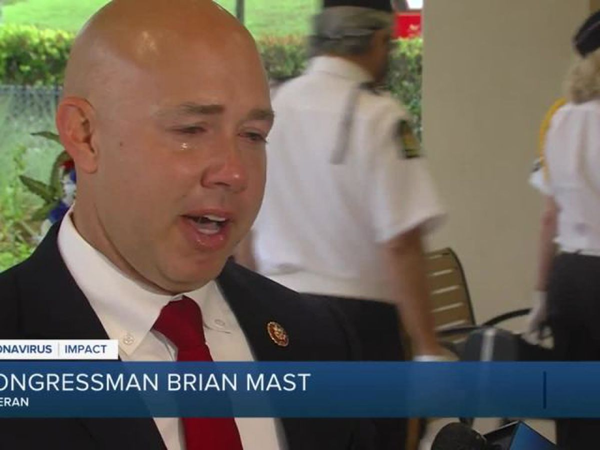 Rep. Mast delivers remarks at South Florida National Cemetery