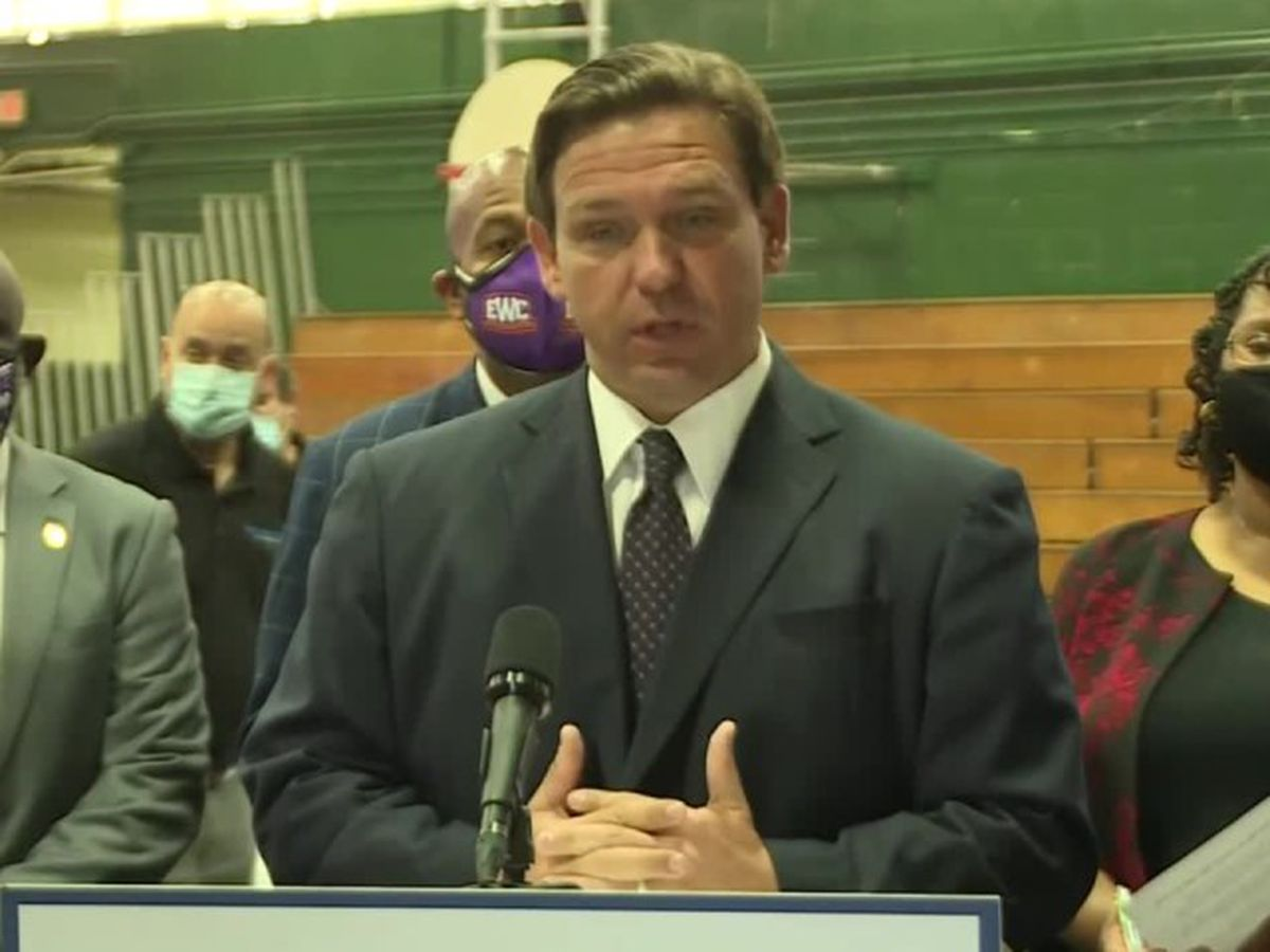 Gov. Ron DeSantis gives update on vaccine distribution after week of controversy