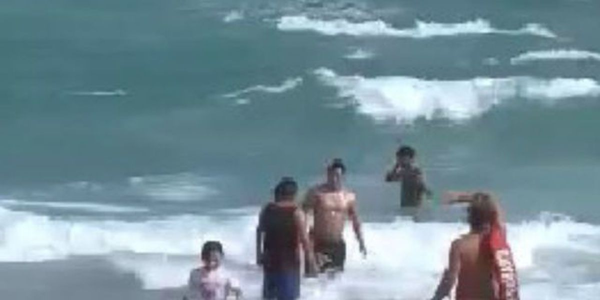 Lifeguards on high alert for rip currents