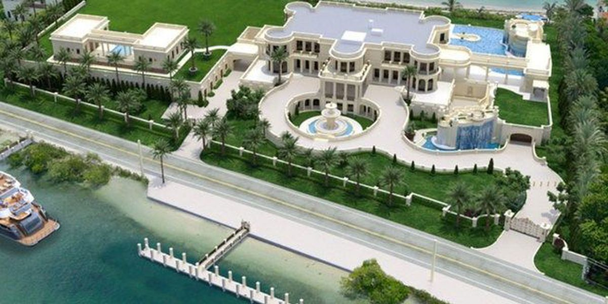 South Florida mansion hits market for $159 million