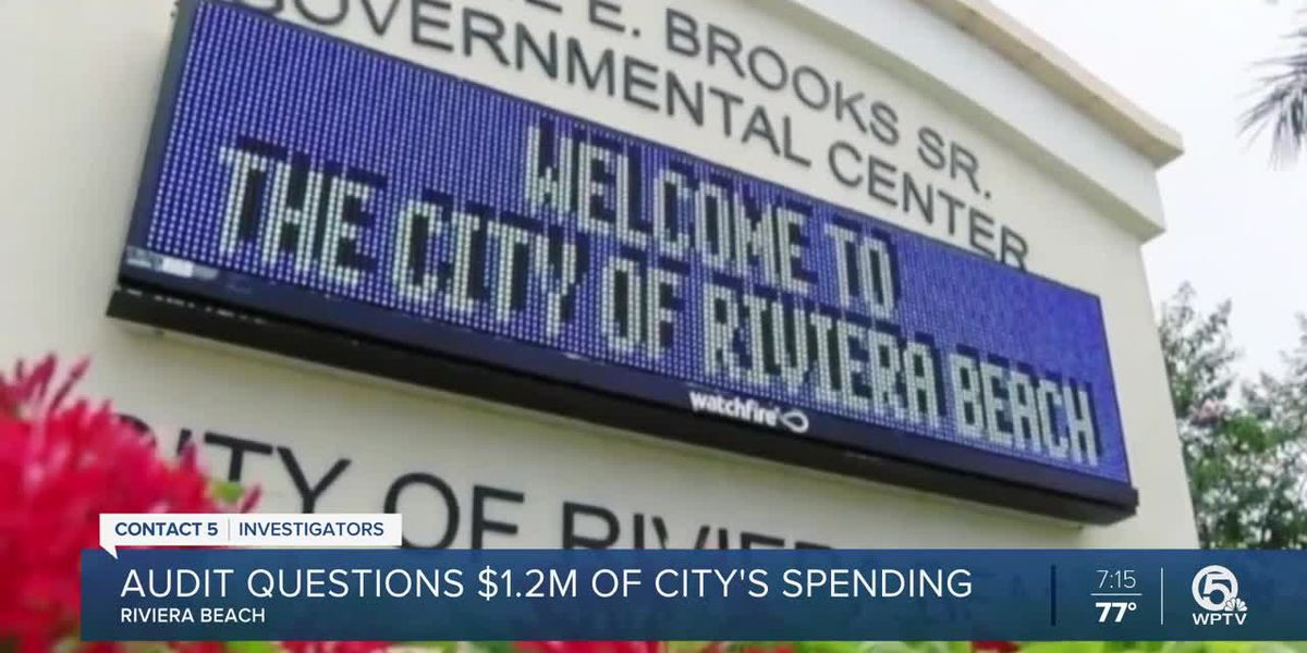 Audit of Riviera Beach finds $1.2M in 'wasted taxpayer dollars'