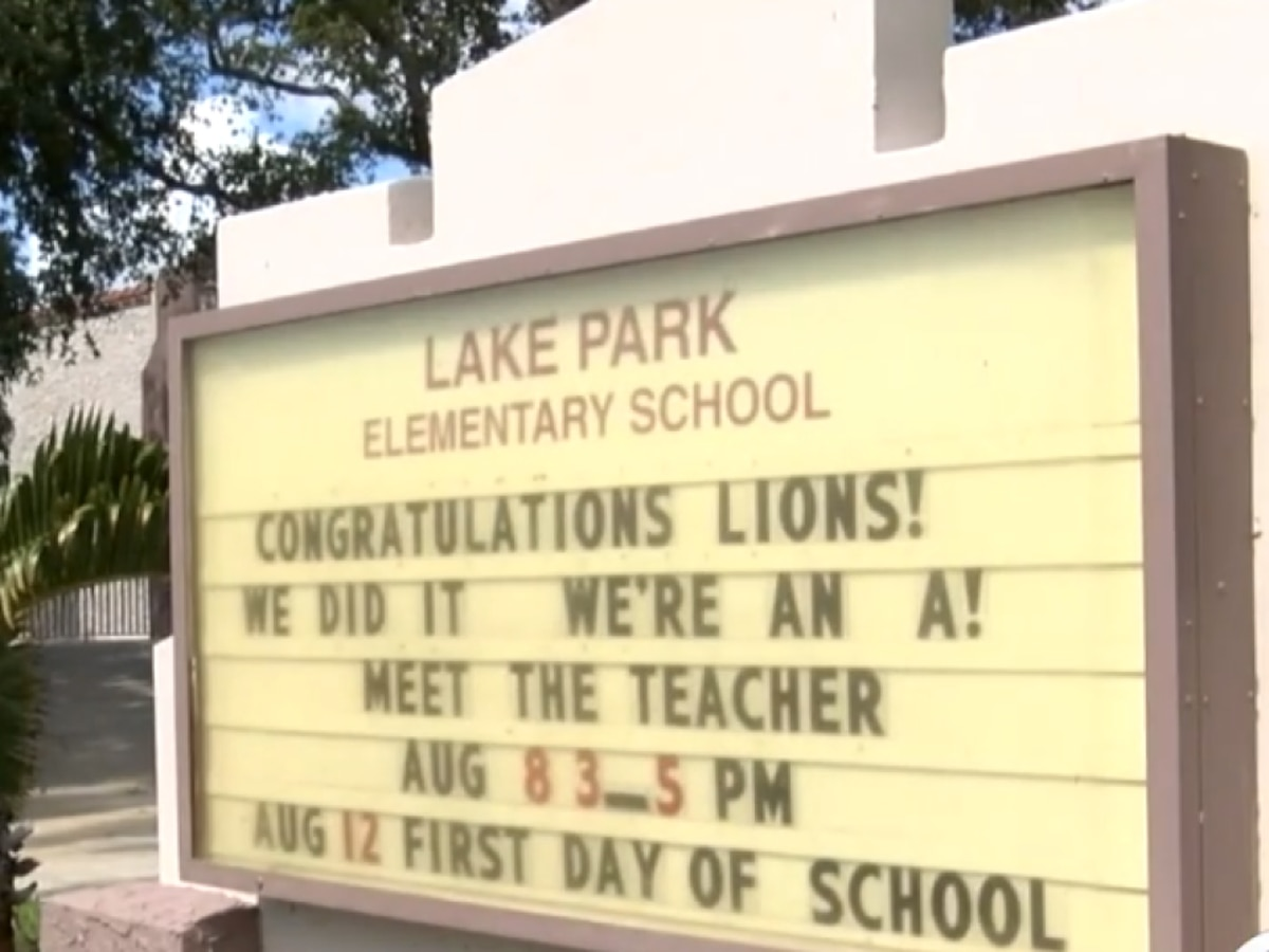 Lake Park Elementary School earns 'A' grade