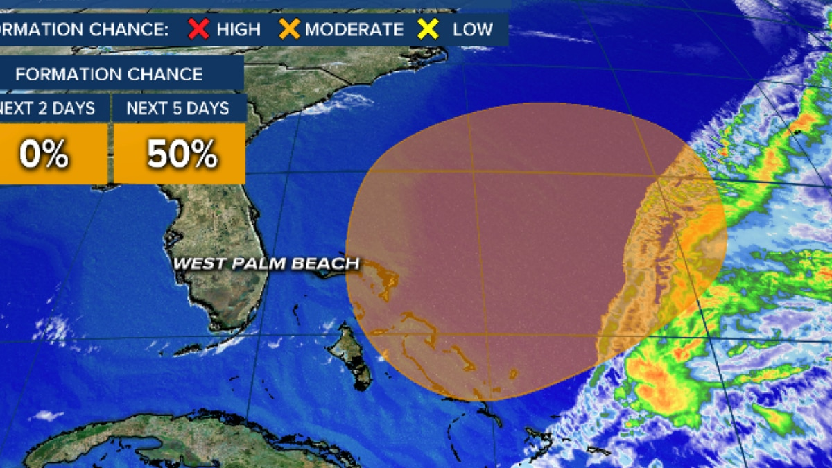 Subtropical system may develop this weekend near Bahamas