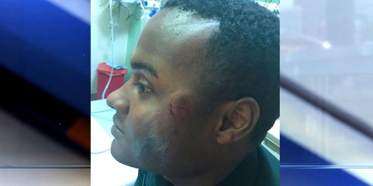 Photos of injured Indian River Co. deputy released; man accused of biting him still jailed