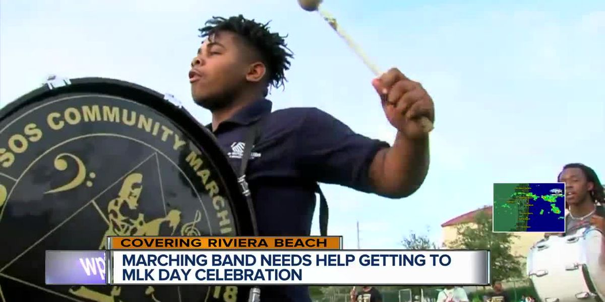 Riviera Beach marching band raises funds for MLK Day celebration performance in St. Petersburg