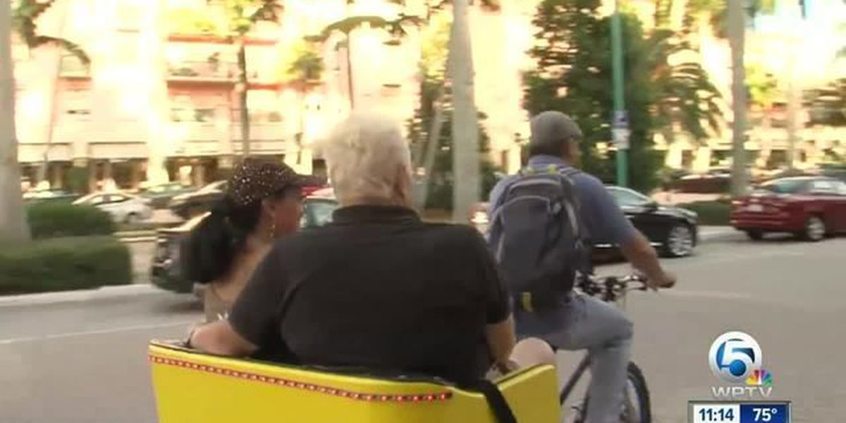 Delray Beach put brakes on pedicab proposal